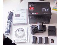 Panasonic GH4 Camera. Includes 3 official Panasonic batteries & Mem card + VLOG profile + Warranty