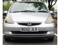 2002 (APR02) HONDA 1.4 JAZZ - LOW MILES - LONG MOT - FULL SERVICE HISTORY - PETROL