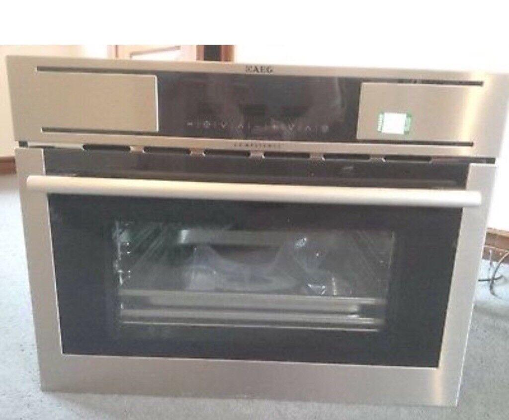 New Aeg steam oven KS7415001M
