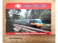 Intercity 125 staff information booklet