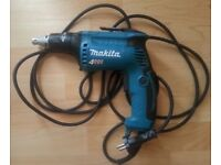 Makita screw gun 240 volts New.