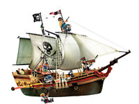Large Playmobil Pirate Ship - Model 5135