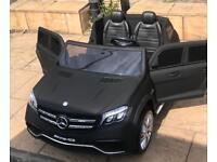 Mercedes GLS, Matt Black, 2 x12v Batteries, 4 Motors, 2 Seater