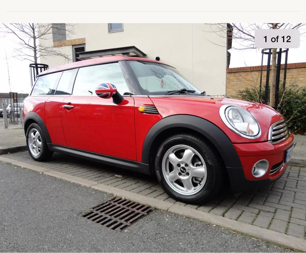 Red Mini Clubman 59 Plate In Wantage Oxfordshire Gumtree