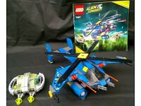 LEGO Alien Conquest Jet-Copter Encounter Set 7067 Complete with instructions & mini figures