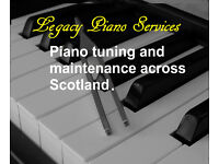 Piano tuning and maintenance based in Stirling