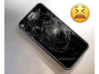 smashed Iphones wanted cash waiting