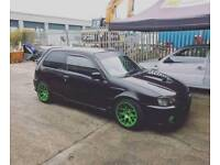 Forged Toyota glanza v not Ford Vauxhall