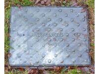 Manhole cover 63 cm x 48 cm