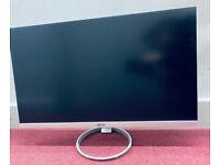 "ACER H277HK 4K Ultra HD 27"" IPS Monitor - White & Silver"