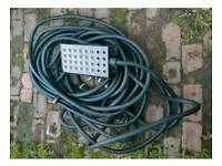 Live music snake cable 30 meter