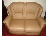 leather 3 pc suite