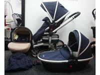 Silver Cross Surf - Navy Full Travel System
