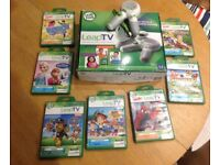 LeapTV console with 2 controllers & 7 games
