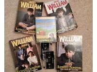 JUST WILLIAM by Richmal Compton - 1920s book series (BBC covers) (audio cassettes also available)