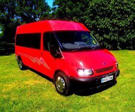 Ford Transit Minibus. Stunning Condition