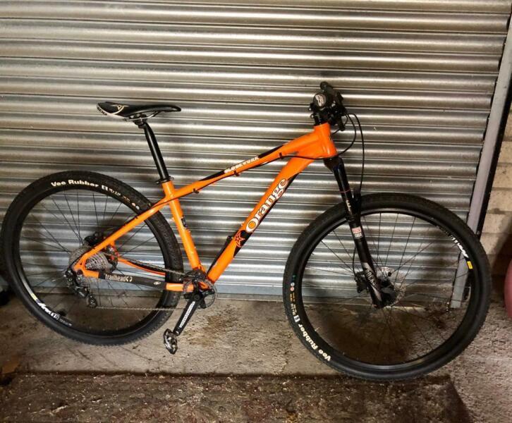 Orange Clockwork mountain bike for sale  Maesteg, Wales