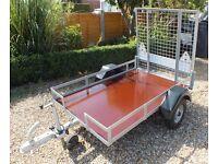 Purpose built Golf buggy car trailer