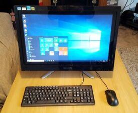 """Lenovo C540 All-in-One - Intel Core i5-3330, 8GB, 1.5TB, 23"""" Touchscreen Desktop"""