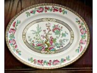 Bridgwood Indian Tree oval platter / Serving plate