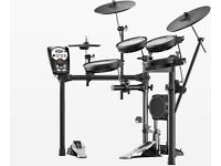 ROLAND V-Drums electronic TD-11KV full mesh pads kit plus pedal 3 zone ride NICE