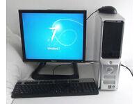 Dell 521 (PC, Monitor, K/M, 3GB Ram, AMD X2 5000, Adobe Photoshop, Illustrator, Desktop PC, Computer