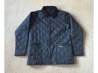 Barbour Boy Black Jacket 12 - 13 Years