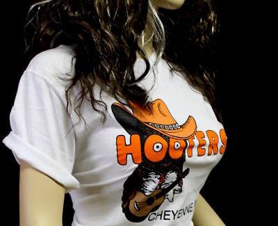 S Hooters Cowgirl Uniform Cowboy Shirt Dolfin logo Shorts Sock PANTYHOSE Nametag