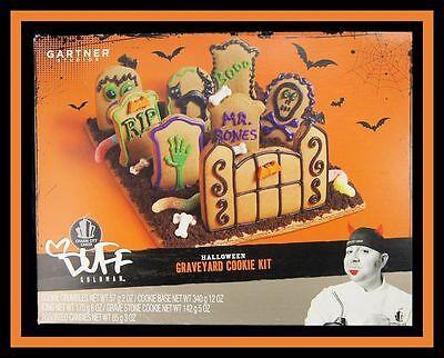 NEW DUFFs HALLOWEEN GRAVEYARD CAKE COOKIE KIT NIP](Graveyard Cake Halloween)