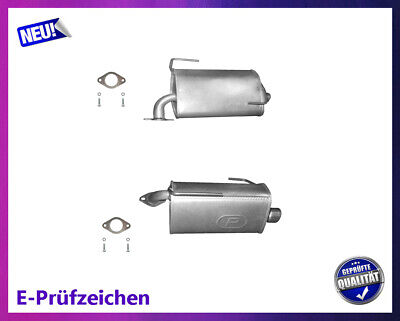 Subaru Forester + Montagesatz SH/_ 2.0 // 2.5  Endschalldämpfer rechts
