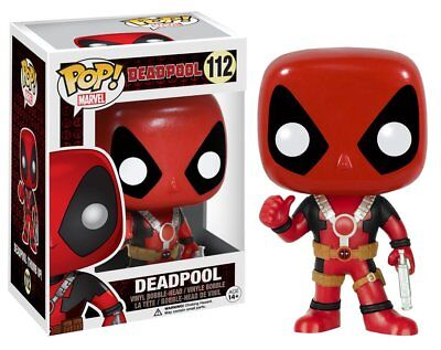 Funko Pop Marvel  Thumbs Up Deadpool Vinyl Bobble Head Collectible Action Figure