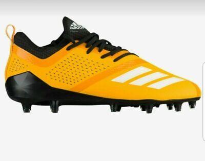 Adidas Adizero 5-Star 7.0 Low Football Cleats Yellow/Black CQ0320 Men Size 12.5