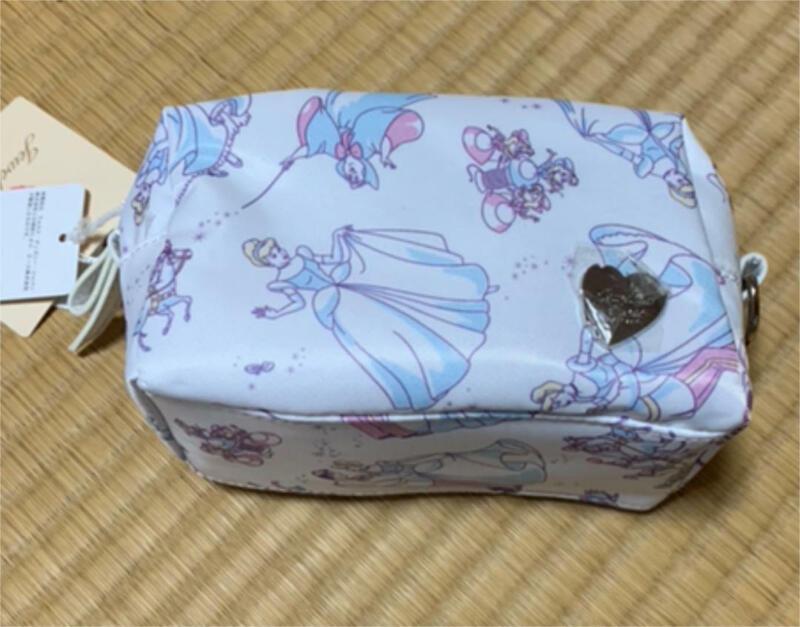 Disney Jewelner Rose Cinderella Pouch limited F/S JAPAN