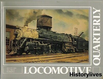 Locomotive Quarterly Wint 85 Soo Line Wabash C O Nickel Plate Canadian National