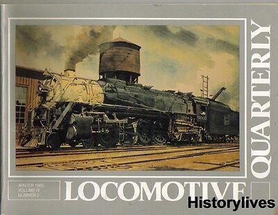 Locomotive Quarterly Wint 85 Soo Line Wabash C O Nickel Plate Canadian National