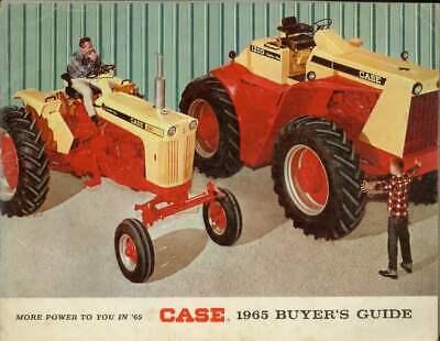 Case 830 730 930 730 Tractor Buyers Sales Brochure Guide 1965