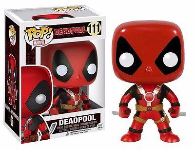 Funko Pop! Deadpool Two Swords Marvel Comics Action Figure