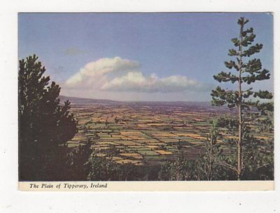 The Plain Of Tipperary Ireland 1969 Postcard 886a