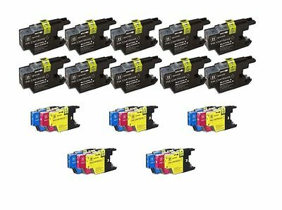 25 Pack Inkjet Compatible Brother Lc-71 Lc-75 Ink Cartrid...