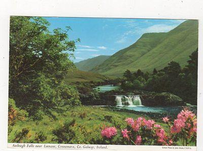 Aasleagh Falls Leenane Galway Ireland Postcard 987a