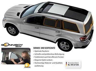 Mercedes GLA ab BJ 2013- Sonnenschutz Climair Sonniboy 2-teilig CLI0078424AC