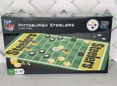 Kids Steelers Helmet (Pittsburgh Steelers Helmet NFL Collectible Checker Set Official)