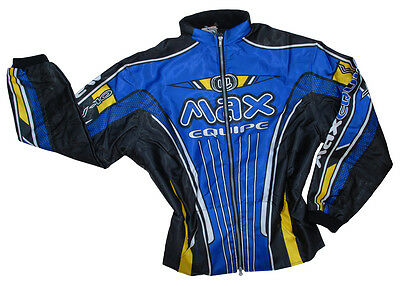 Wulfsport Max V10 blue ride jacket size large motocross motorbike MX leisure