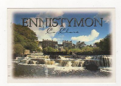 Ennistymon Co Clare Ireland Postcard 879a