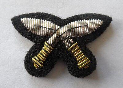QOGLR Badge, Kukri, Mess Dress, Black, Army, Gurkha Logistic Regiment, Military