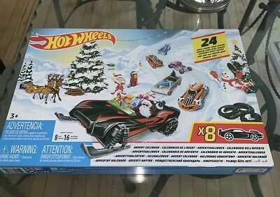 2019 Hot Wheels Advent Calendar Alternate Packaging Awesome Collectors Edition