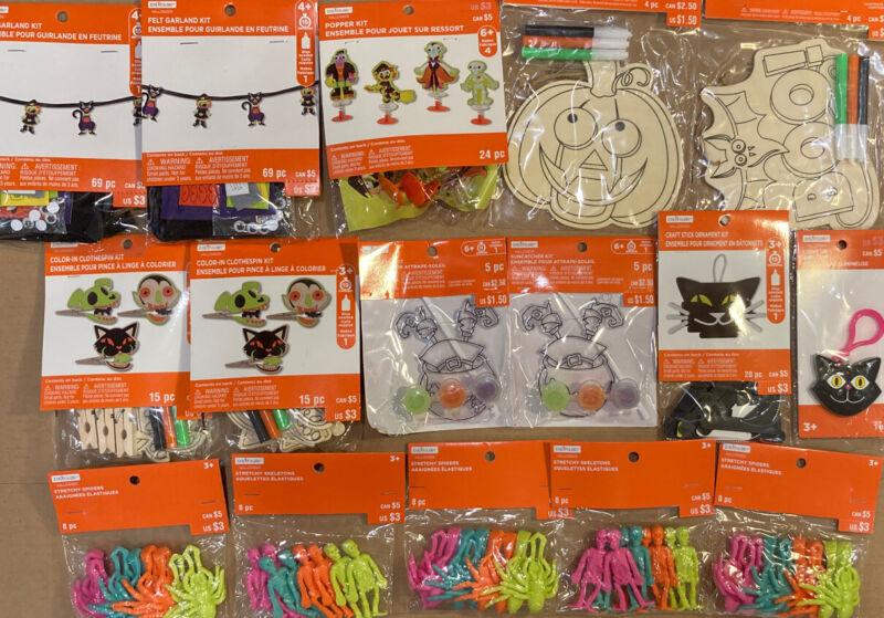 Creatology Kids Halloween Activity Holiday Grab Bag Box Lot of 16 Total Crafts D