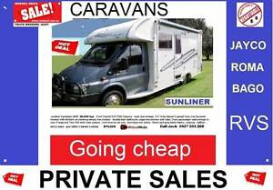 CARAVANS -RVS -Going cheap Jayco crusader winnebagos Sydney City Inner Sydney Preview