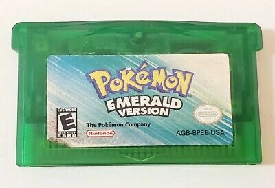 Pokemon Emerald Version (Game Boy Advance, 2005), authentic