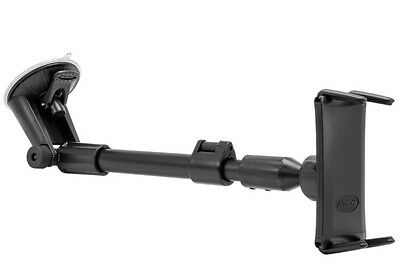 SM6-CM117: Arkon phone & Midsize Tablet Windshield Mount for iPad mini iPhone